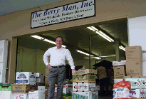 Welcome to The Berry Man, Inc. We are a wholesale produce distributor supplying restaurants, resorts, institutions, caterers and markets from big Sur to Malibu. Located in Santa Barbara and San Luis Obispo the Company is locally Owned by Guy De Mangeon.